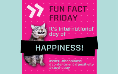 Fun Fact Friday – It's International Day of Happiness!