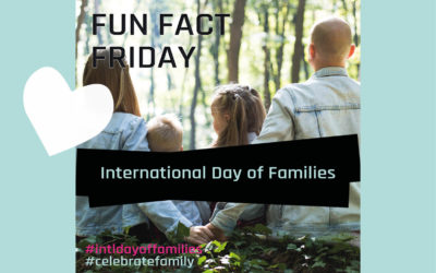 Fun Fact Friday – International Day Of Families
